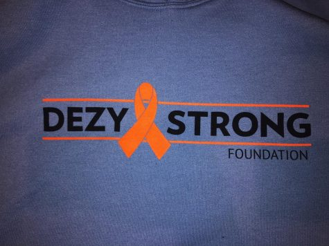 Many students and faculty have been wearing their shirts in solidarity with Dezy this week to honor his memory.