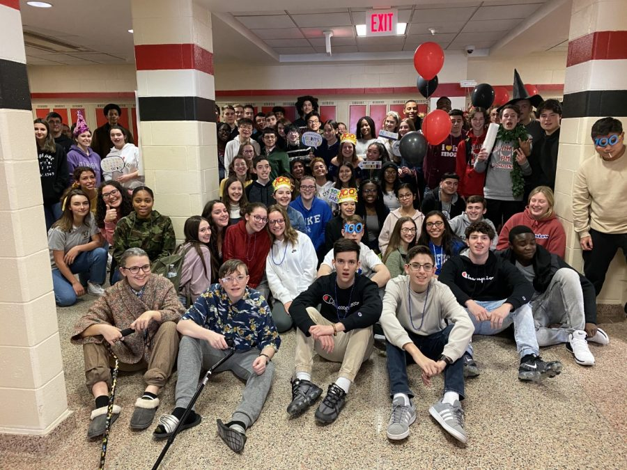 Students+from+several+English+classes+at+PMHS+celebrated+the+100th+day+of+school%2C+a+milestone+that+hold+significance+for+students+of+all+ages.+