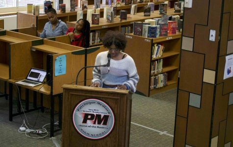 PMHS Library Hosts the African-American Read-In