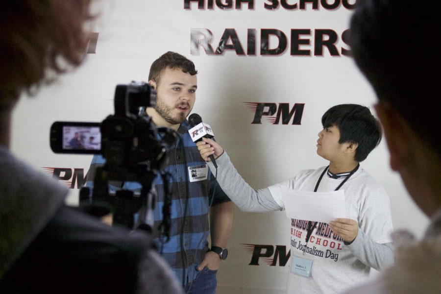 Our Barton junior journalist, Matthew T., interviews local business owner, Cory Mahony for Raider TV.