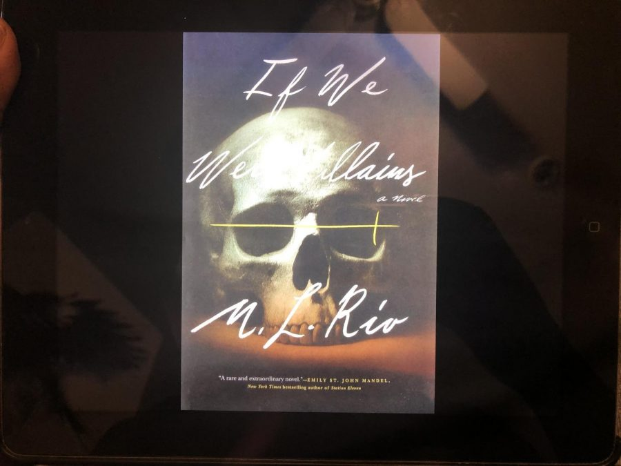 """Pictured here is the cover of my copy of the """"If We Were Villains"""" e-book. Normally, I don't judge a book by its cover, but you have to admit this one is really cool."""