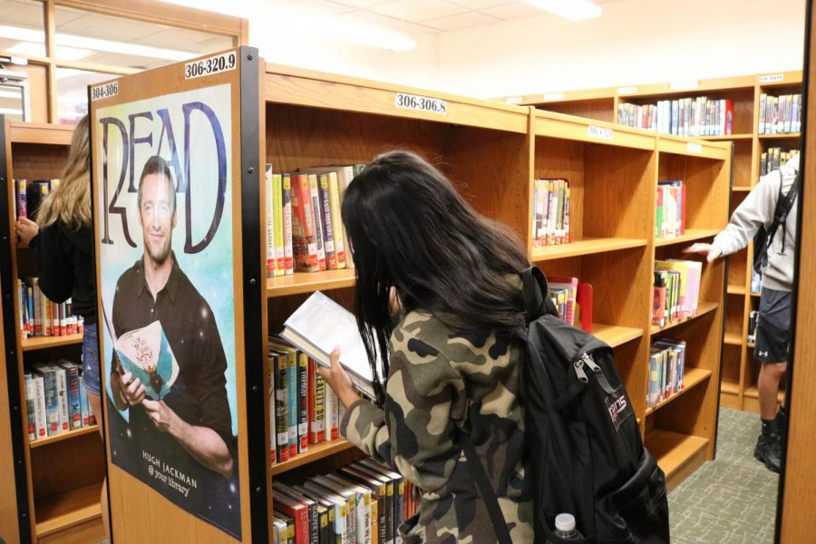 The PMHS Library reopened post COVID with all new resources for students and teachers to enjoy.